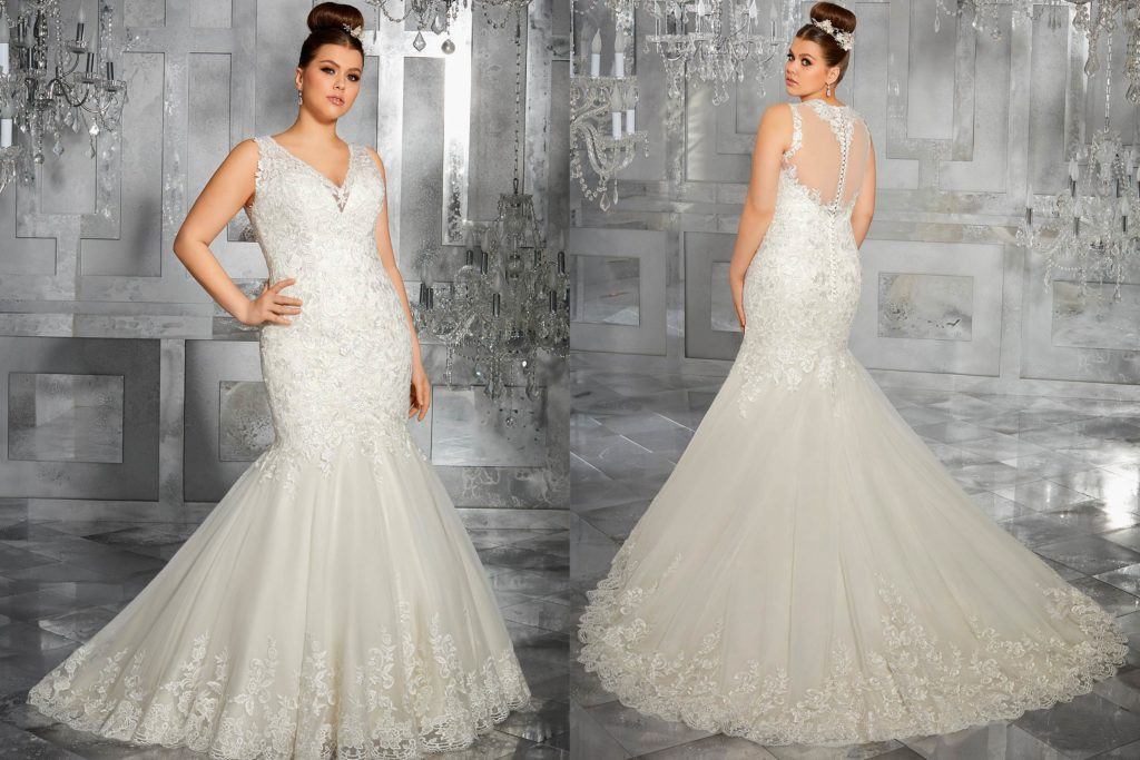 Our favourite mermaid wedding dress options fashion key for Wedding dresses for small breasts